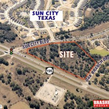 SH 195 & Sun City Blvd., Georgetown, TX 78633